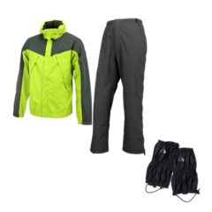 Rainwear and gaiters